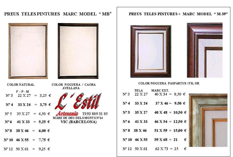 Casas cocinas mueble lienzos para cuadros for Cuadros a medida